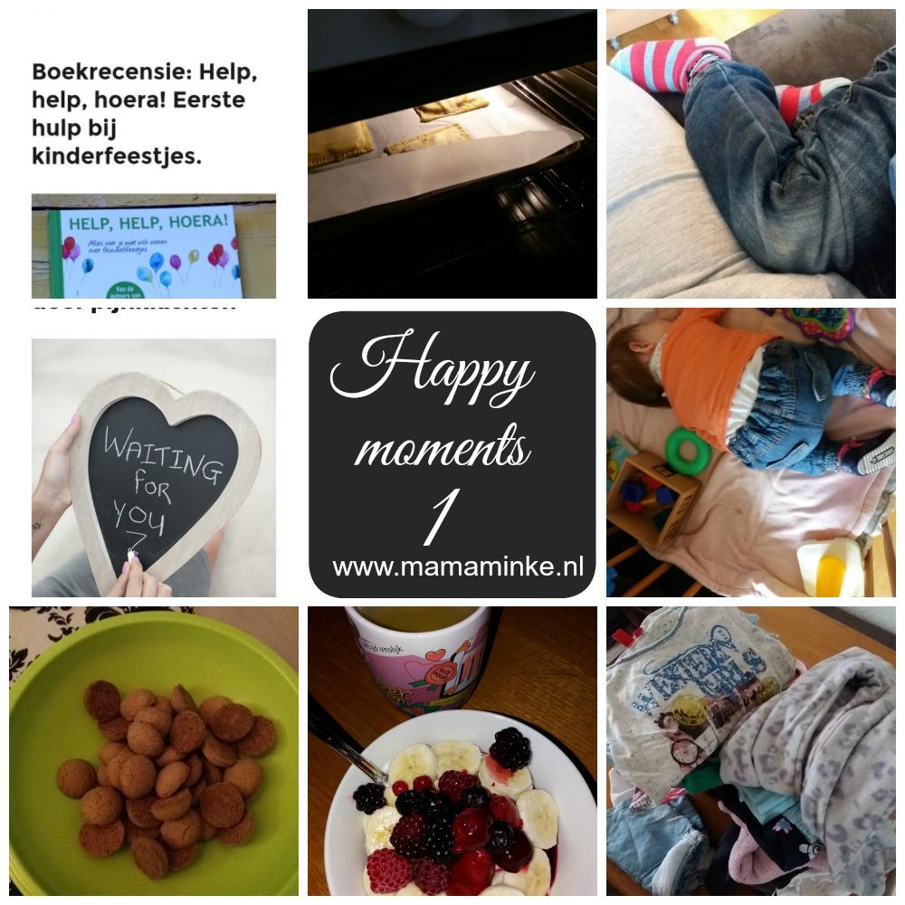 happy moments week overzicht