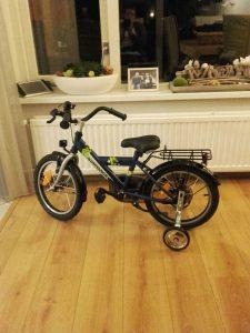 nieuwe fiets Luca
