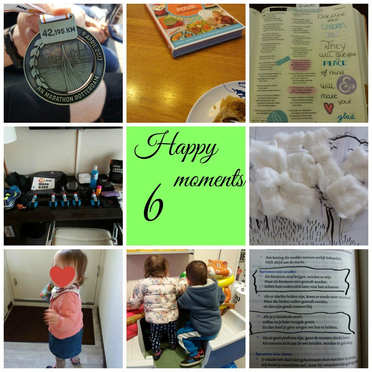 Happy moments: knutselen, spelletjes en de marathon