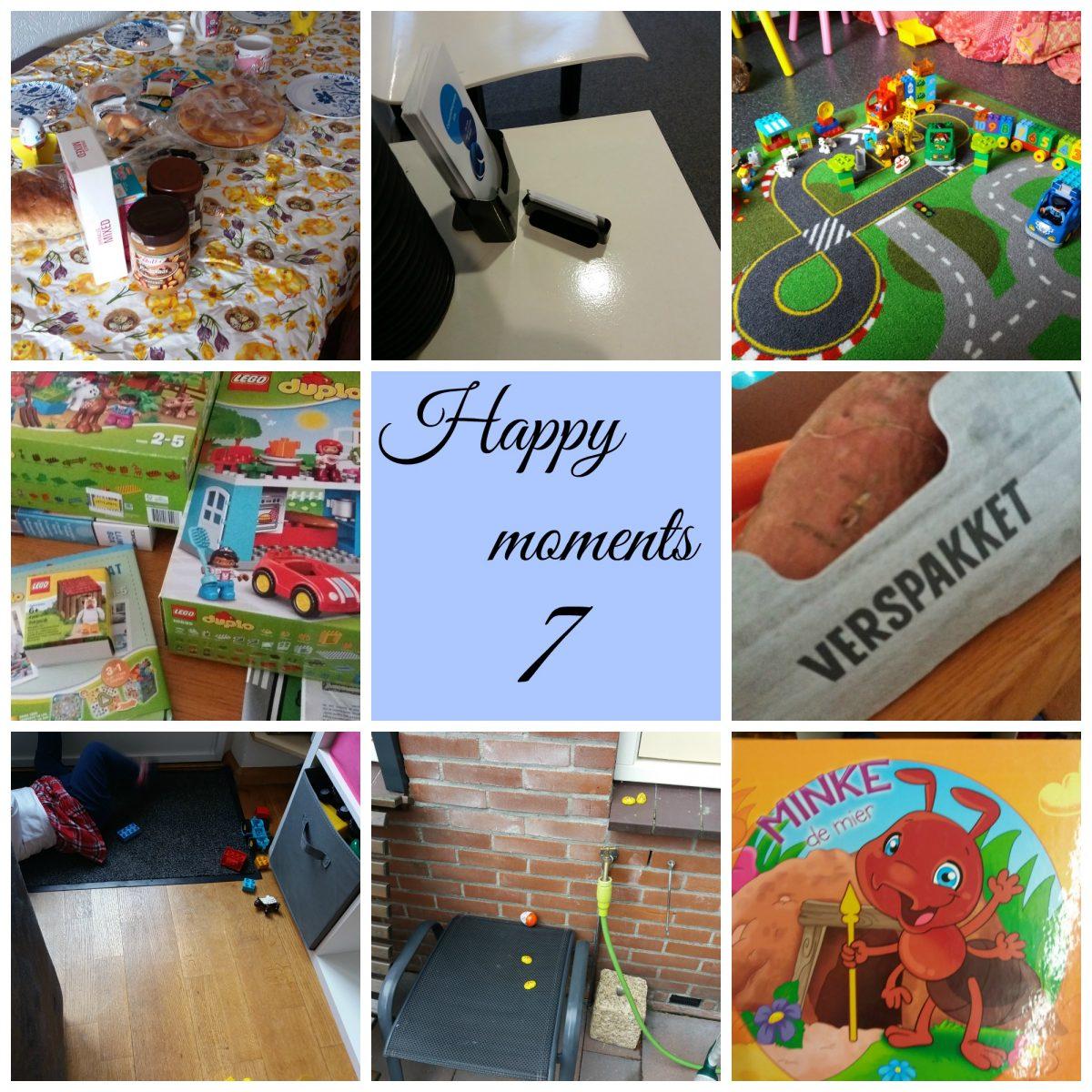 Happy moments: Pasen, bijkomen en genieten samen