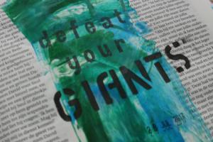 defeat your giants journaling bijbel