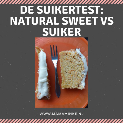 suikertest met wortelcake
