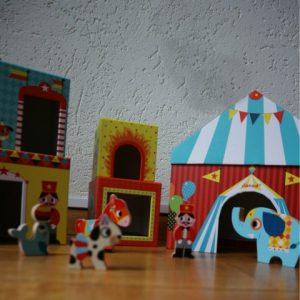 stapeltoren circus opstelling