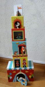stapeltoren circus hoge toren