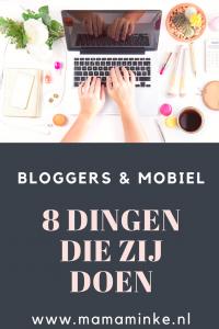 bloggers & telefoon pinterestafbeelding