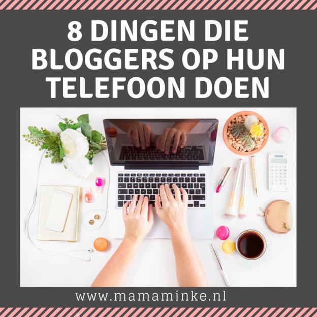 bloggers & telefoon uitgelichte afbeelding