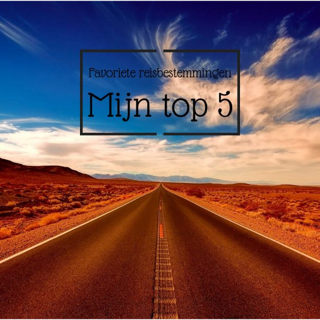 top 5 reisbestemmingen
