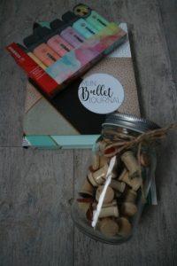 verjaardagsshoplog bruna bullet journal