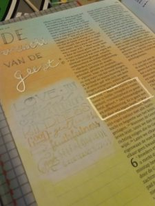 dagboek bible journaling