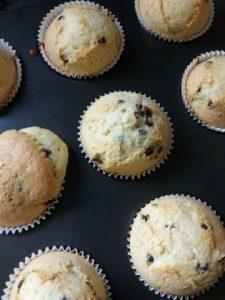 muffins na de oven