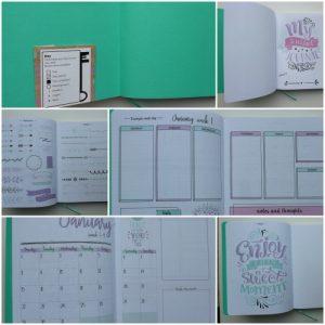 journaling action stippen binnenkant
