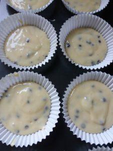 muffins voor de oven