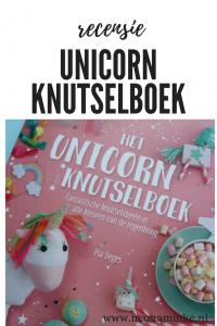 unicorn knutselboek voor al je leuke versieringen voor verjaardagen en verschillende leuke knutselwerkjes om te maken met je kind.