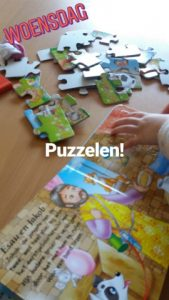 dagboek puzzelen