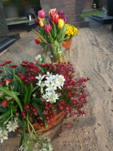 dagboek bloemen bij oma