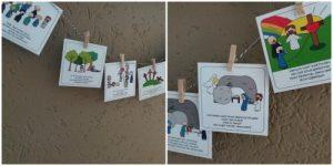 Paaseieren en aftelkalenders om toe te leven naar Pasen