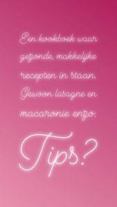 dagboek tips