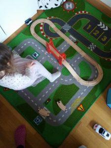 dagboek treinbaan spelen