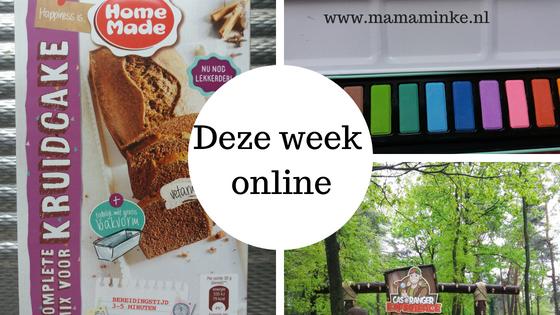 Deze week online op mamaminke.nl