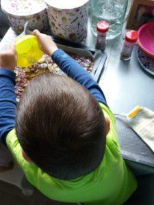 moederdagchocola versieren Luca