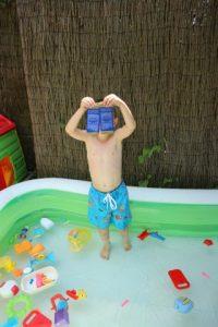 ockyz sweakers en zwemshort Luca